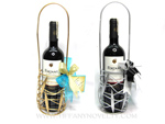 Wedding Favor Ideas For Principal Sponsors : Wine Holderfor Principal Sponsors / Guests / Corperate Giveaway ...